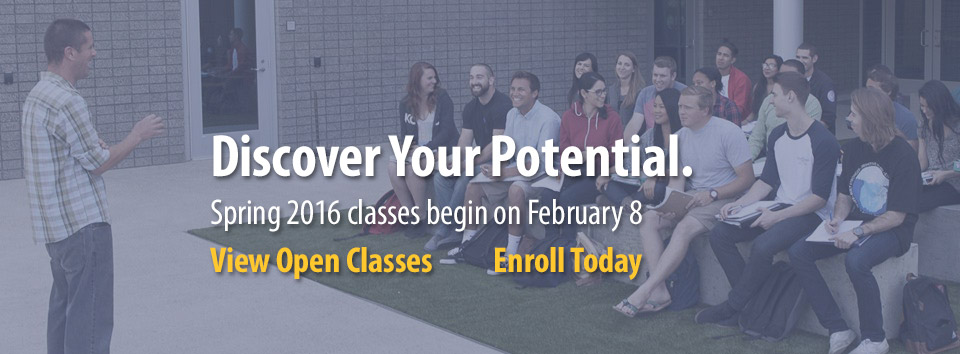 Enroll in Spring 2016 Classes