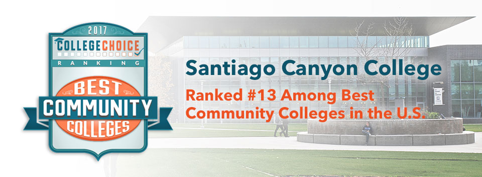 SCC Ranked #13 Among Best Community Colleges in U.S.