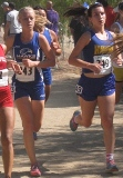 Men's Hawks runniing at Fresno Invitational