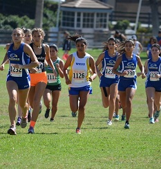 Student Hawk Running at Ventura Invitational