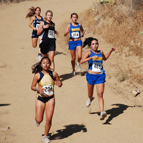 Santiago Canyon College Cross Country 2008