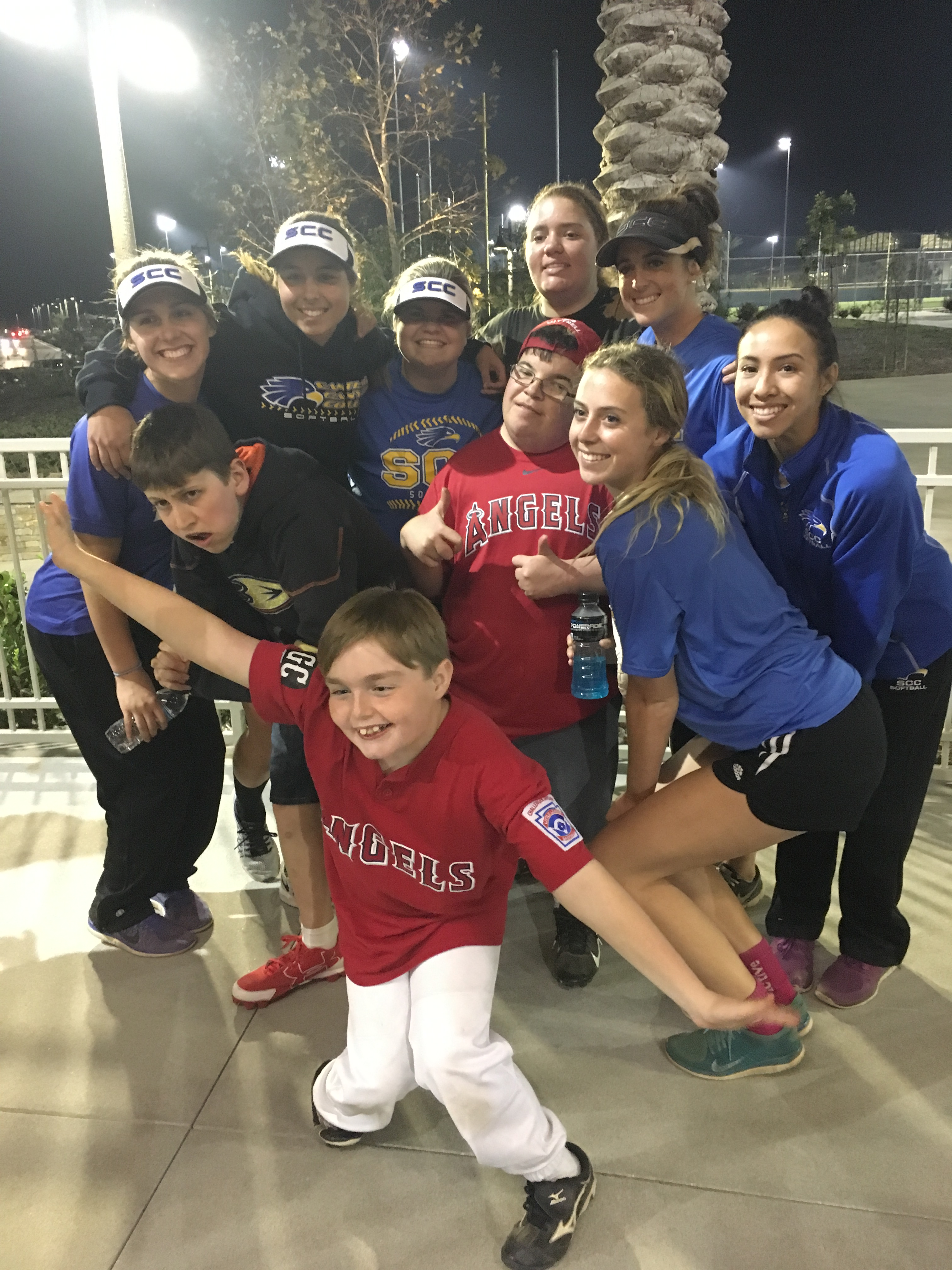 Team at Challenger League Clinic