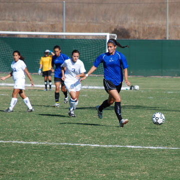 Santiago Canyon College Women  Soccer 2008