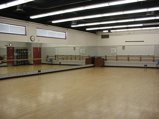 dance room at SCC