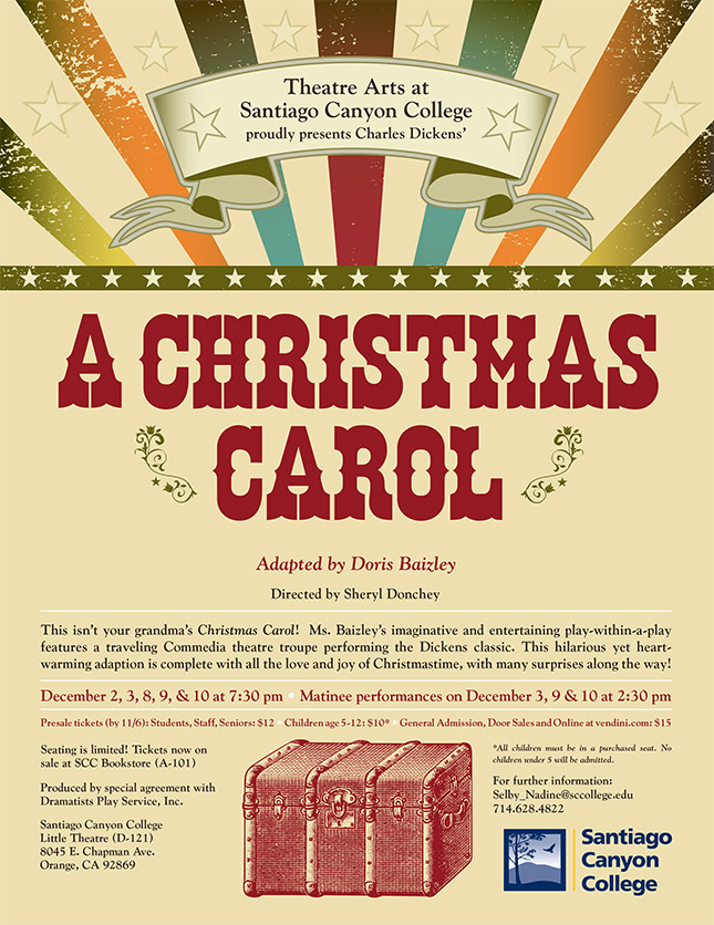 SCC Theatre Arts presents A Christmas Carol