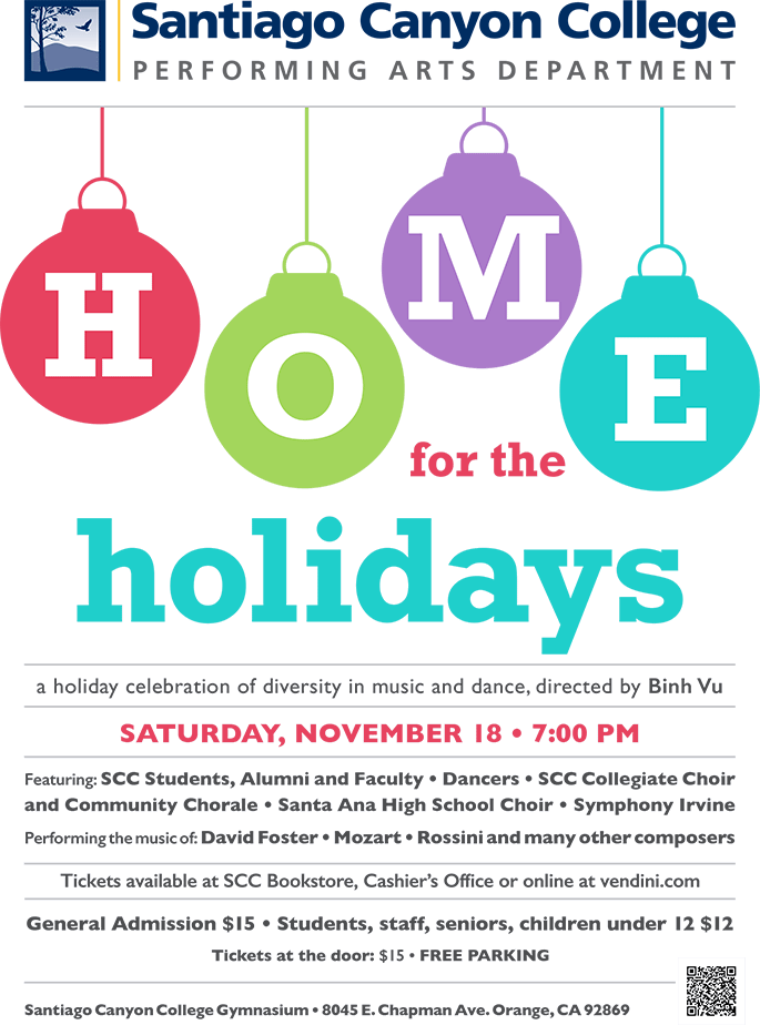Home for the Holidays celebration information
