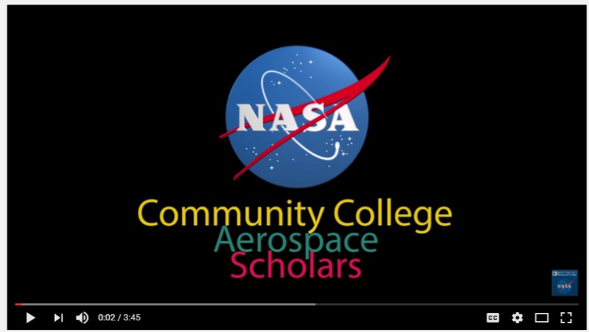 NASA Community College Aerospace Scholars