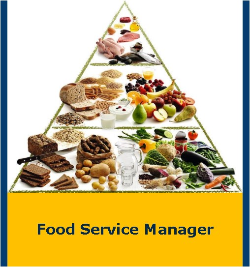 Food Service Manager Flyer