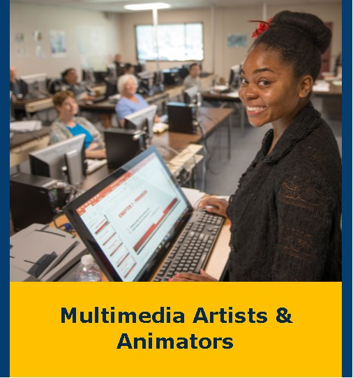 Multimedia Artists & Animators