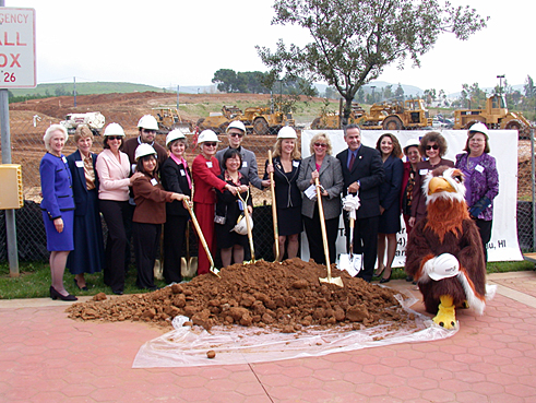 Library Ground Breaking Ceremony