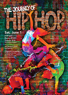 The Journey of Hip Hop event poster