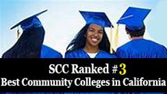 SCC ranked #3 in Best California Community Colleges