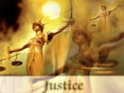 decorative: symbol of justice