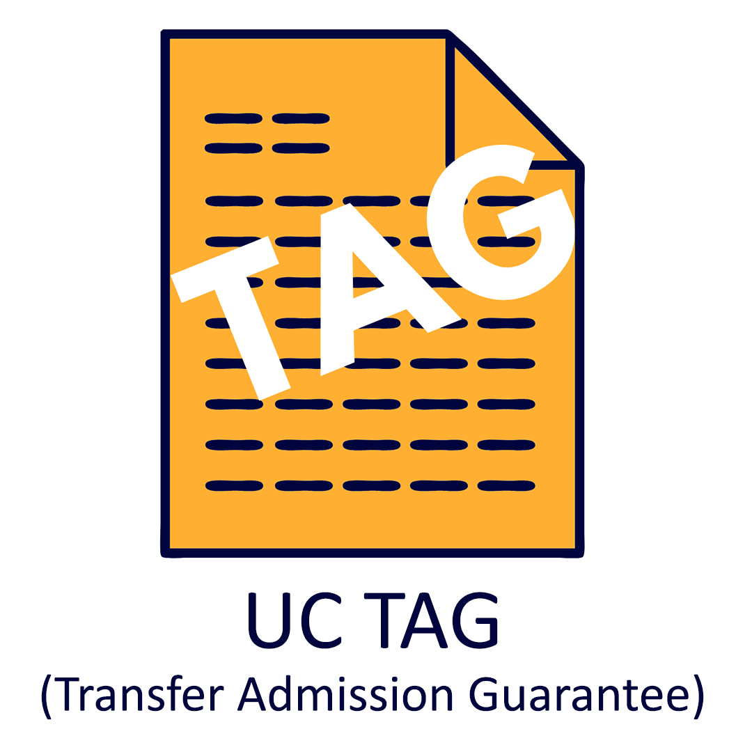 UC Transfer Admission Guarantee Button